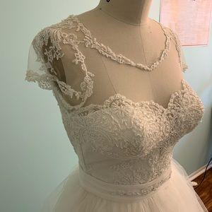 Wedding dress 2 piece